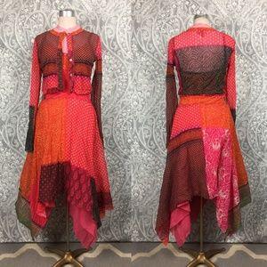 Jean Paul Gaultier Soleil Handkerchief Dress